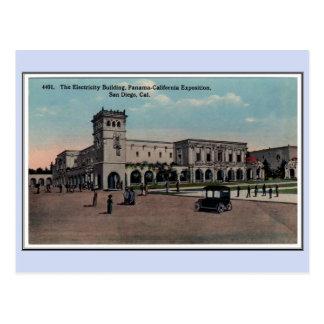 Vintage 1915 Panama California Expo San Diego 2 Postcard