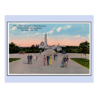 Vintage 1915 Panama California Expo San Diego 6 Postcard