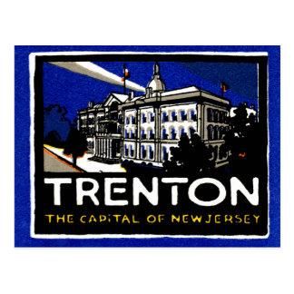 Vintage 1915 Trenton NJ Postal