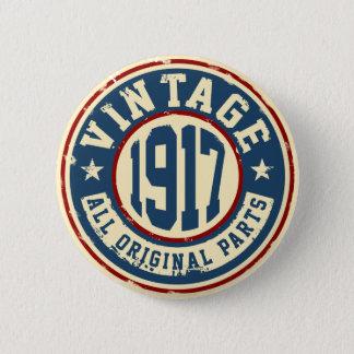 Vintage 1917 All Original Parts Button