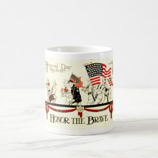 Vintage 1917 Memorial Day Poster Coffee Mug