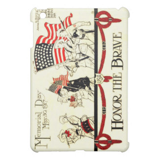 Vintage 1917 Memorial Day Poster iPad Mini Cases