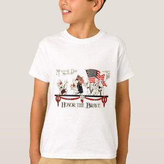 Vintage 1917 Memorial Day Poster T-Shirt