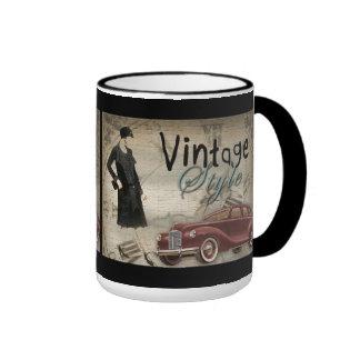 Vintage 1920's 1930's Fashion Mug