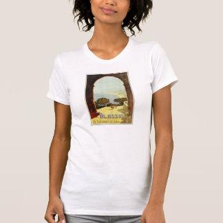 Vintage 1920s Alassio Italian travel poster Tee Shirt