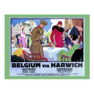 Vintage art deco postcards zazzle - Deco vintage belgique ...