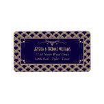 """Vintage 1920&#39;s Art Deco Gatsby Wedding Collection Label<br><div class=""""desc"""">The Vintage 1920&#39;s Art Deco Gatsby Wedding Collection - Labels.</div>"""
