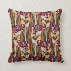 Vintage 1920's Art Deco Pillow Throw