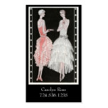 Vintage 1920's Fashion Double-Sided Standard Business Cards (Pack Of 100)