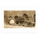 Vintage 1920s Hook and Ladder Fire Company Post Cards