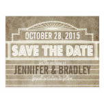 Vintage 1920's Movie Marquee Save the Date Post Cards