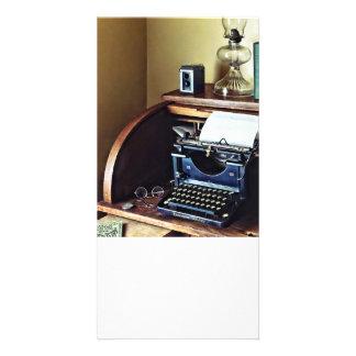 Vintage 1920s Typewriter In Home Office Card