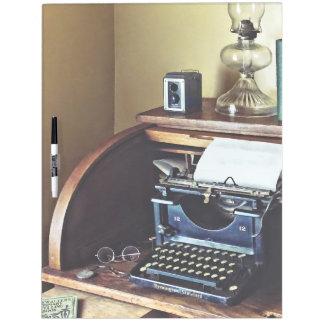 Vintage 1920s Typewriter In Home Office Dry Erase Board
