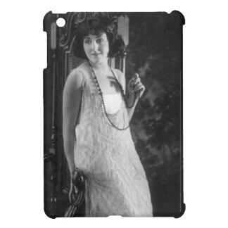 Vintage 1920s Women's Flapper Fashion iPad Mini Cases