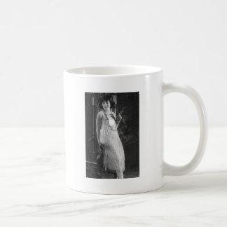 Vintage 1920s Women's Flapper Fashion Coffee Mugs