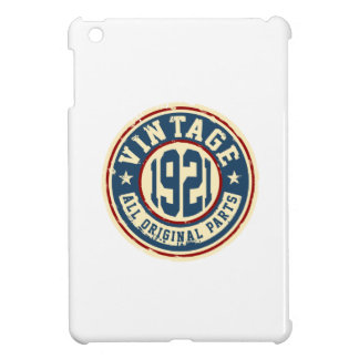 Vintage 1921 All Original Parts Cover For The iPad Mini