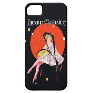Vintage 1921 de la portada de revista del teatro iPhone 5 fundas