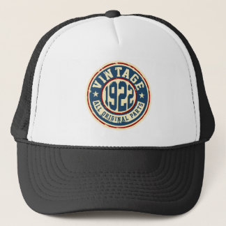 Vintage 1922 All Original Parts Trucker Hat