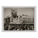 Vintage 1922 Atlantic City Boardwalk Photograph Poster