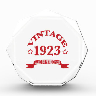 Vintage 1923 Aged to Paerfection Award