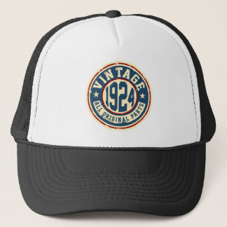 Vintage 1924 All Original Parts Trucker Hat