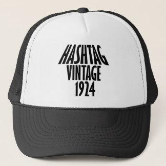 vintage 1924 designs trucker hat