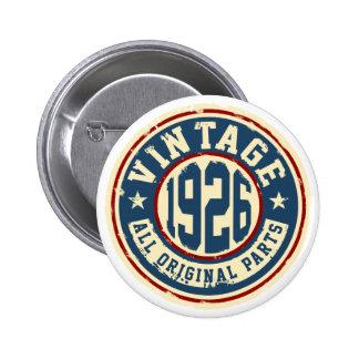 Vintage 1926 All Original Parts Pinback Button