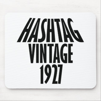 Vintage 1927 design mouse pad