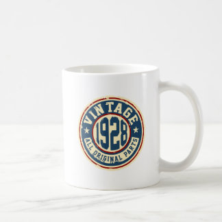 Vintage 1928 All Original Parts Coffee Mug