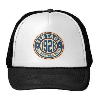 Vintage 1928 All Original Parts Trucker Hat