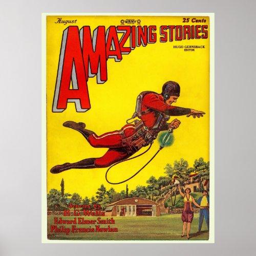 """Vintage 1928 """"Amazing Stories"""" comic"""