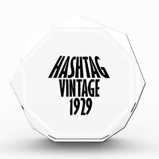 Vintage 1929 design award