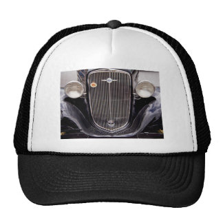 Vintage 1930s Chevy Classic Grill Photograph Trucker Hat