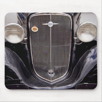 Vintage 1930s Chevy Classic Grill Photograph Mouse Pad