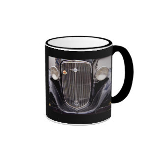Vintage 1930s Chevy Classic Grill Photograph Coffee Mugs