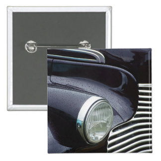 Vintage 1930s Classic Car Grill Photo Button