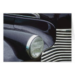 Vintage 1930s Classic Car Grill Photo Greeting Cards