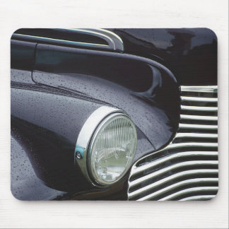 Vintage 1930s Classic Car Grill Photo Mouse Pad