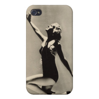 Vintage 1930s Film Star Pinup Cases For iPhone 4