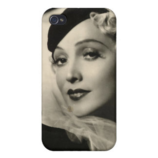 Vintage 1930s Film Star Pinup iPhone 4/4S Case