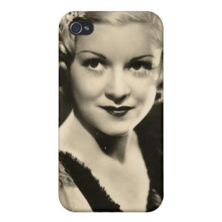 Vintage 1930s Film Star Pinup iPhone 4 Covers
