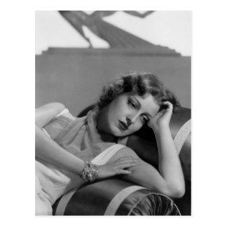 Vintage 1930s Film Star Postcard