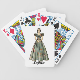 Vintage 1930s Image Personalized Playing Card Gift