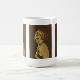 Vintage 1930's Ladies Fashion Mug