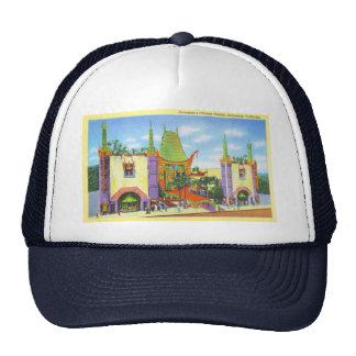 Vintage 1931 Grauman's Chinese Theater Mesh Hat
