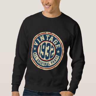 Vintage 1932 All Original Parts Sweatshirt