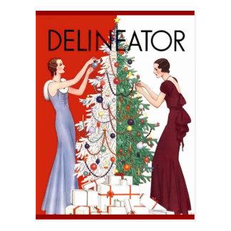 Vintage 1932 Christmas Post Cards
