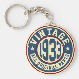 Vintage 1933 All Original Parts Keychain