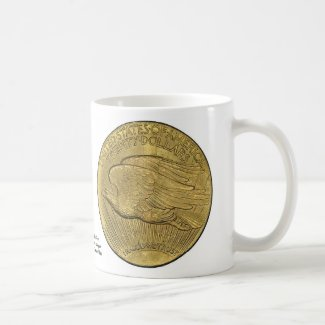 Vintage 1933 Gold Piece Mug