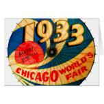 Vintage 1933 World's Fair Century Progress Ad Art